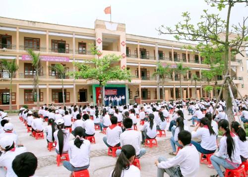 Trường THCS Vũ Tiến-Ảnh minh họa