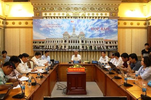 Toàn cảnh buổi họp báo ngày 28-10. Ảnh: Bảo Ngọc