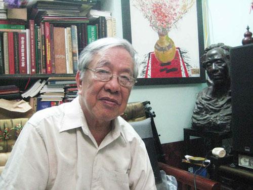 Nhạc sĩ Nguyễn Đức Toàn. Ảnh: Hoàng Lan Anh