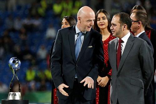 Chủ tịch FIFA Infantino hy vọng The Best sẽ giúp hình ảnh bóng đá đẹp hơn với người hâm mộ