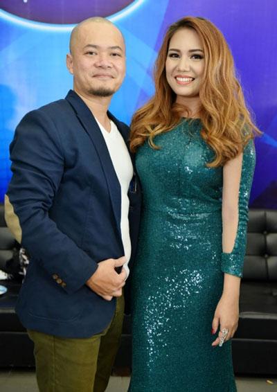 Janice Phương cùng chồng là nhạc công người Việt. (Ảnh do nhân vật cung cấp)