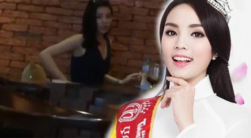 Hoa hậu Kỷ Duyên hút thuốc là một hình ảnh rất phản cảm