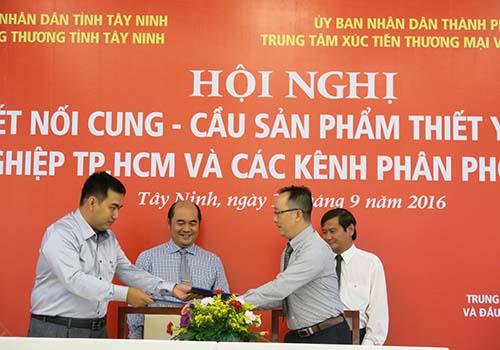 Kết nối doanh nghiệp TP HCM với Tây Ninh