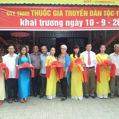 Khánh thành Công ty TNHH Thuốc gia truyền dân tộc Trà Vinh