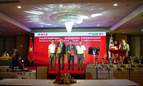 Maritime Bank - đối tác chiến lược đầu tiên của KBIZ