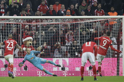Lewandowski ấn định chiến thắng 3-0, nhấn chìm Leipzig
