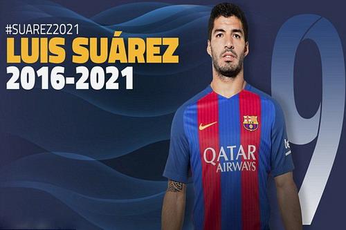 Hình ảnh đăng trang trọng trên trang chủ của Barcelona