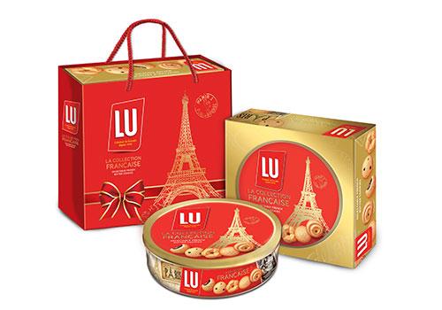 Độc đáo bánh cookies bơ Pháp LU