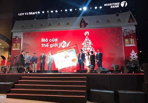 Ra mắt thẻ Lotte Mart - Maritime Bank