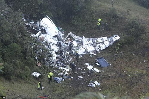 Chiếc máy bay gặp nạn ở vùng núi Cerro Gordo