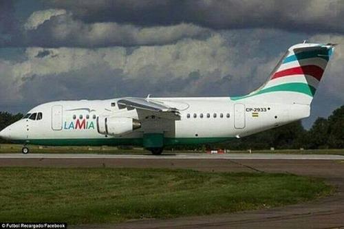 Chiếc máy bay này vừa chuyên chở đội tuyển Argentina 2 tuần trước từ Brazil về nước