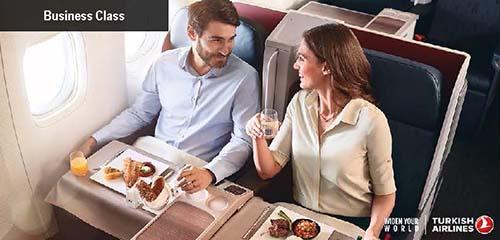 Hãng hàng không bay châu Âu tốt nhất cho doanh nhân