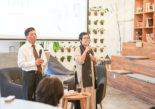 BS Hà và MC Đỗ Hương