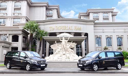 Mercedes-Benz hiện là đối tác hàng đầu của hơn 80% khách sạn, khu nghỉ dưỡng 5 sao tại Việt Nam