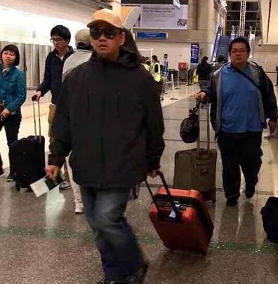 Minh Béo về tới Việt Nam