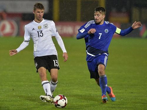 Thomas Mueller chơi trọn 90 phút trước San Marino