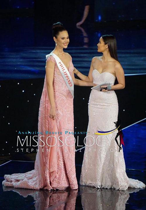 Người đẹp đến từ Philippines thất vọng