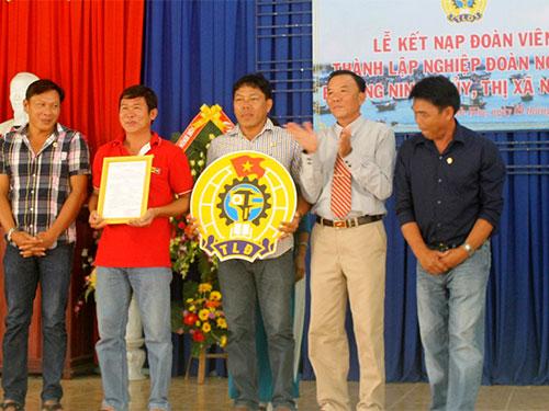 Thêm một nghiệp đoàn nghề cá ở Khánh Hòa