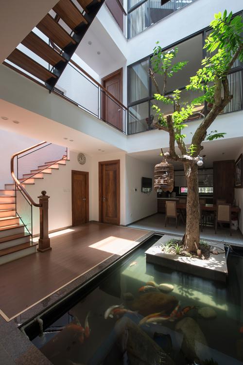 Ngôi nhà ngập tràn nắng gió ở Hà Nội