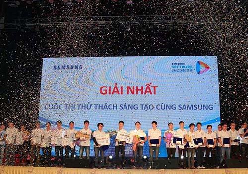Lễ trao giải Samsung Software Challenge 2016