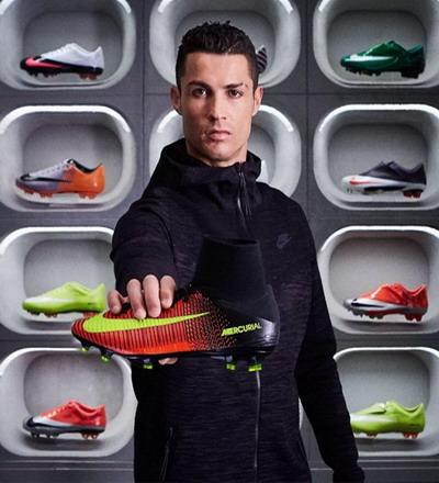 Ronaldo trở thành đối tác quảng cáo trọn đời cho Nike