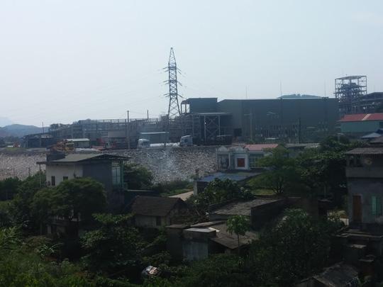 Một khu vực thuộc dự án Núi Pháo ở huyện Đại Từ, Thái Nguyên