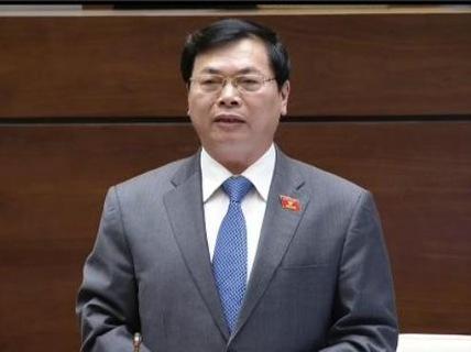 Ông Vũ Huy Hoàng - Bộ trưởng Bộ Công Thương nhiệm kỳ 2011-2016 - trong một lần trả lời chất vấn Quốc hội