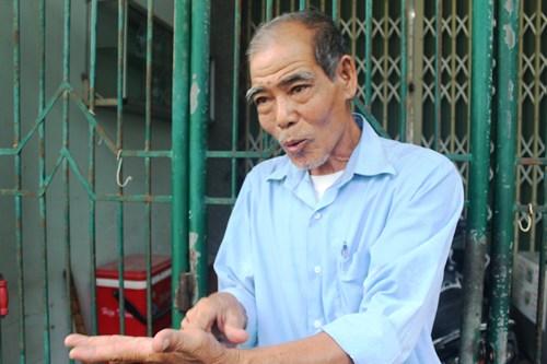 Ông Nguyễn Bá Thẩn, đồng đội cũng là hàng xóm với Anh hùng lực lượng vũ trang Dương Văn Thanh