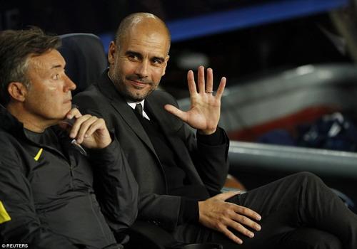 Pep Guardiola không còn giữ được nụ cười sau trận đấu