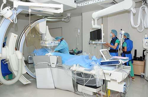 Hoàn Mỹ luôn chú trọng đầu tư trang thiết bị hiện đại nhất để giúp việc khám chữa bệnh tim mạch đạt hiệu quả cao
