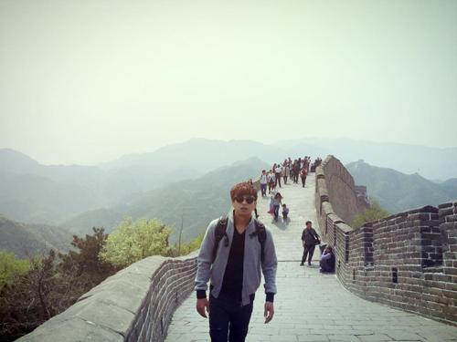 Hiếu cho biết anh thường chuẩn bị kỹ đồ y tế khi đi du lịch. Ảnh: Hồ Quang Hiếu.