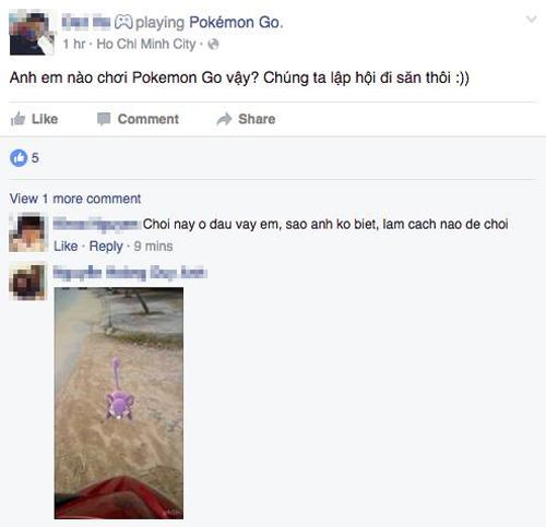 Các dòng chia sẻ về Pokemon Go không còn thường xuyên xuất hiện trên Facebook gần đây.