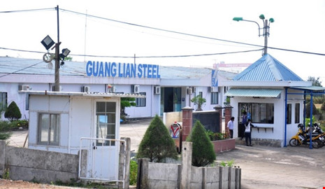 Sau bao năm chậm tiến độ, dự án thép Quảng Liên Dung Quất đã được tỉnh Quảng Ngãi đồng ý chủ trương để Tập đoàn Hòa Phát tiếp quản.