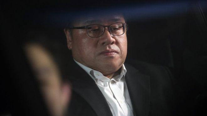 Ông Ahn Jong-beom. Ảnh: EPA