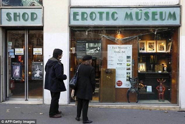 Giá thuê mặt bằng đắt đỏ khiến bảo tàng tình dục Paris buộc phải đóng cửa.