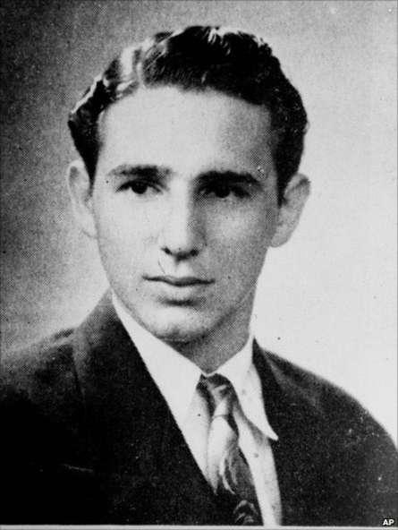 Ông Fidel thời trẻ. Ảnh: AP