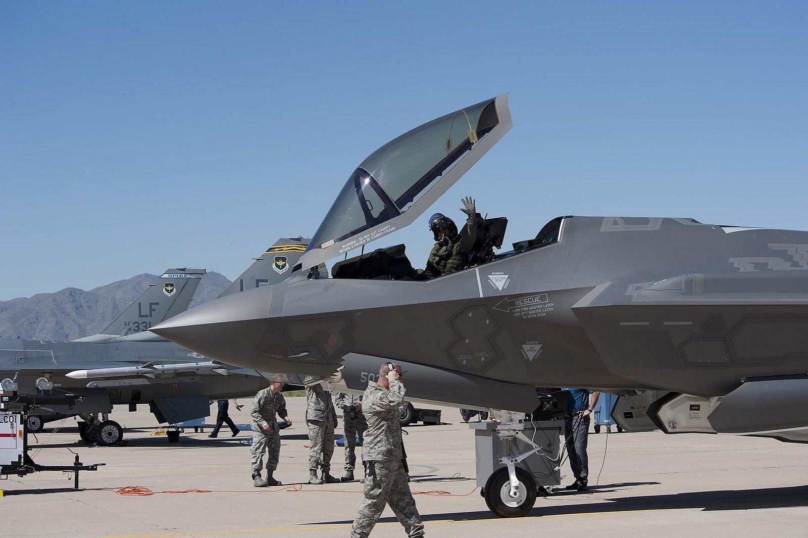 Chiến đấu cơ F-35. Ảnh: Flickr