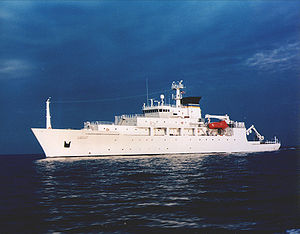 Tàu USNS Bowditch của Hải quân Mỹ. Ảnh: US Navy