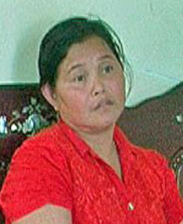 Lý Búp Pha, kẻ cầm đầu đường dây buôn bán phụ nữ sang Trung Quốc.