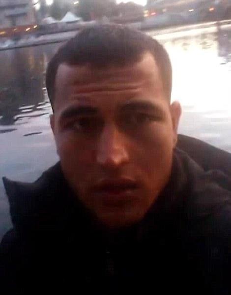 Anis Amri trong video hồi tháng 9. Ảnh: Facebook