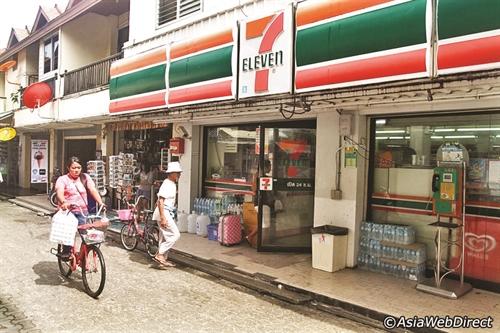 7-Eleven rất thành công tại thị trường các nước Đông Nam Á. Ảnh: phiphi.phuket.com