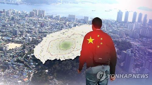 Trong số 347 người nước ngoài phạm tội ở Jeju, có 240 người là công dân Trung Quốc. Ảnh: YONHAP