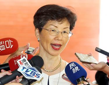 Chủ nhiệm Ủy ban Trung Hoa đại lục Trương Tiểu Nguyệt Ảnh: TAIPEI TIMES