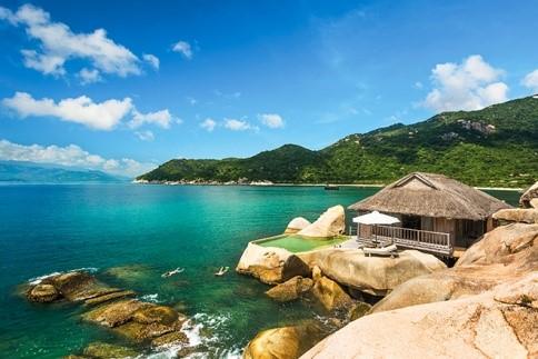 Six Senses Ninh Vân Bay Nha Trang nằm tại vịnh Ninh Vân, Ninh Hòa, Nha Trang.