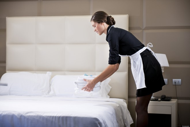 Những món đồ siêu bẩn trong khách sạn