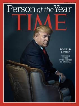 Trên trang bìa số tháng 12 của Time sẽ được phát hành tuần tới. Ảnh: TIME