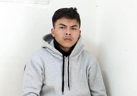 Đối tượng Nguyễn Vũ Bảo Ân.