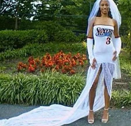 """Những cô dâu """"chịu chơi"""" nhất trong ngày cưới"""