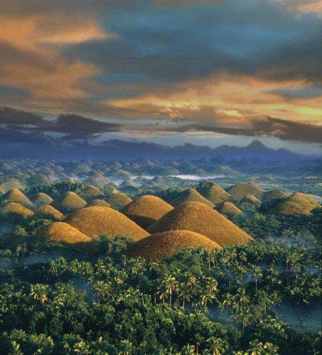 Đồi Chocola ở đảo Bohol, Phillipines - Ảnh: National Geographic