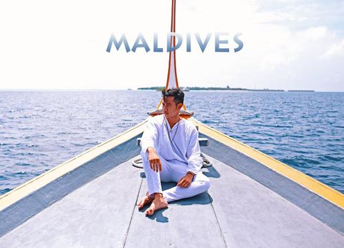 Với Khoa, lời khen tặng có cánh dành cho Maldives quả thật không ngoa. Ảnh: Hồ Vĩnh Khoa.